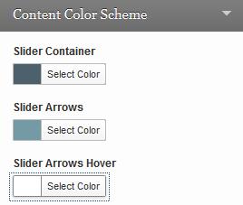 cleansale slider colors