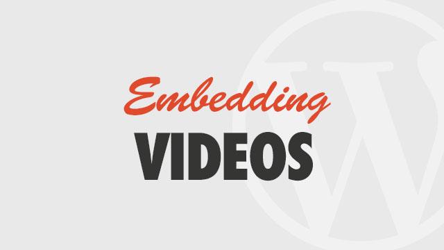 embedding-videos