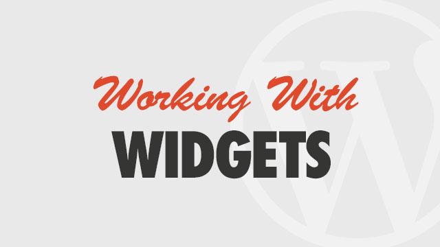 using-widgets