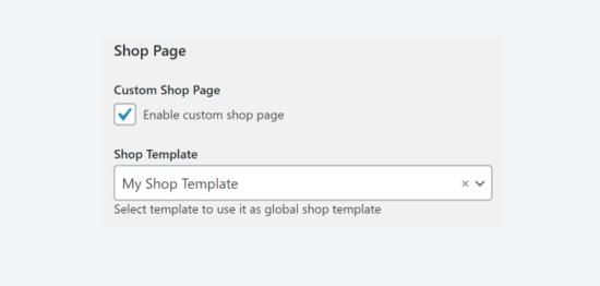 assign template