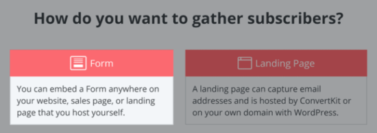 gather subscribers with convertkit