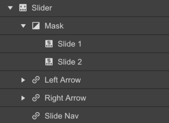 what are webflow slideshows